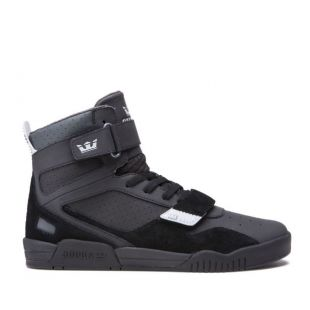 Кеды Supra Breaker (black/lt grey black)